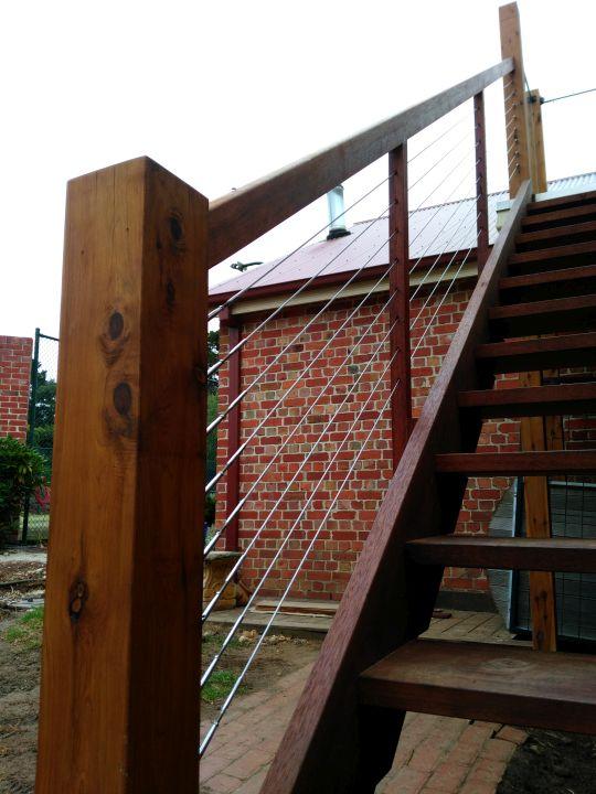 stainless steel balustrading